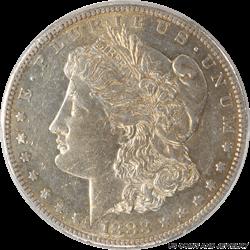 1883-S Morgan Silver Dollar PCGS AU55
