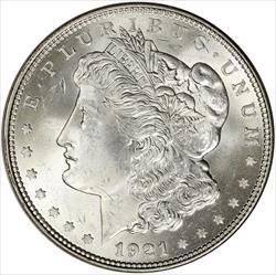 1921 Morgan Silver Dollar - Brilliant Uncirculated -