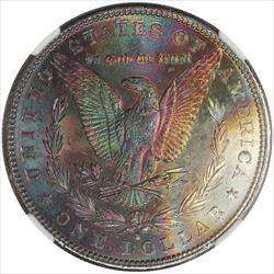 1881-S Morgan Silver Dollar NGC MS64 * Deep Violet Toning