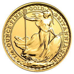 1/4 OZ BRITTANIA GOLD