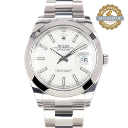 Rolex 41mm Datejust Ref/26300 Watch and Card