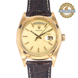 Vintage Rolex 36mm Day Date President 1802  Original Box and Papers