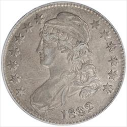 1832  Capped Bust Half Dollar PCGS XF45 Small Letters