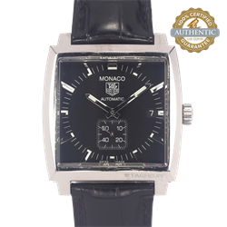 Tag Heuer MONACO RN/WW2110-0 Watch and Papers
