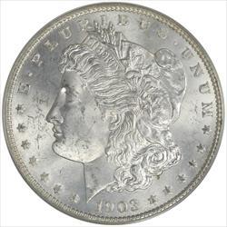 1903-O Morgan Silver Dollar PCGS MS63 Frosty White OGH