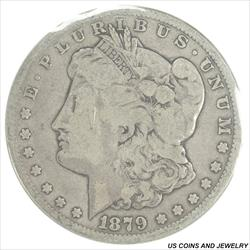 1879-CC Morgan Silver Dollar Soft GSA Packaging