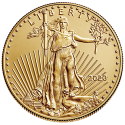 2020 1/10 oz American Gold Eagle - Holiday Mailer