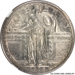 1916 Standing Liberty Quarter NGC MS63