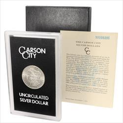 1890-CC  Morgan Silver Dollar From The GSA Hoard Unc