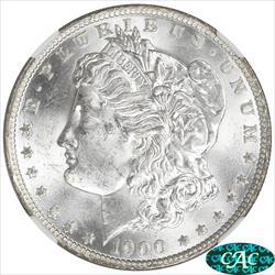1900 O/CC Morgan Silver Dollar NGC MS64 Variety O over CC Mint Mark