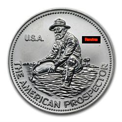 1oz .999 Englehard Prospector Round -Random Years / Both Designs-