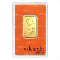 20 GRAM GOLD BAR VALCAMBI