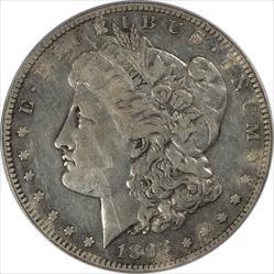 1893-S Morgan Silver Dollar PCGS VF25