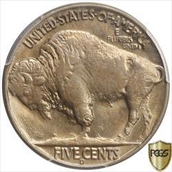 Three Legged 1937-D  Buffalo Nickel PCGS MS64