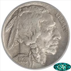 1920-D Buffalo Nickel PCGS and CAC XF40