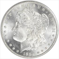 1884-CC Morgan Silver Dollar PCGS MS65 Old Green Holder