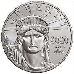1 oz  American Platinum Eagle .9995 fine