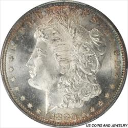 1880-S MORGAN Silver Dollar PCGS MS67 Premium Quality + Coin