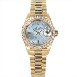 Rolex 26mm Datejust 69138 Factory Diamond Bezel Jubilee Dial with Box