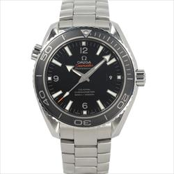 OMEGA 45.5mm Seamaster Planet Ocean Black Dial box and card