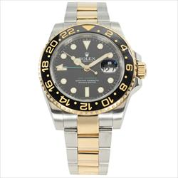 Rolex 40mm GMT Master II Date 116713LN with Box and Card