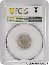 1880 Three Cent Nickel PCGS and CAC