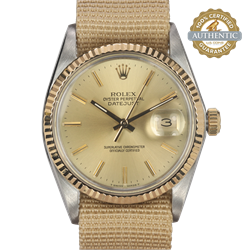 Rolex 36mm Date Just 16013 On a Sports Band