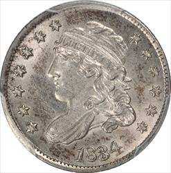 1834 Capped Bust Half Dime PCGS MS62