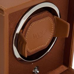 Cub Winder with Cover Cognac