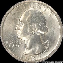 1932-S Washington Quarter PCGS MS63 - Nice Original Coin