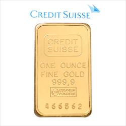 1 OZ CREDIT SUISSE GOLD BARS