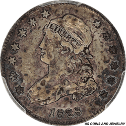1828 Capped Bust Quarter PCGS XF 40
