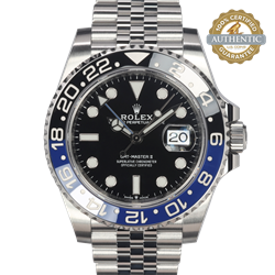 Rolex 40mm GMT-Master II 126710BLNR Batman with 2019 Card