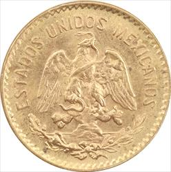 5 PESO GOLD .1205 TROY OUNCES GOLD