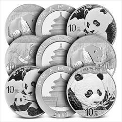 30g .999 Silver Chinese Panda -Assorted Years-