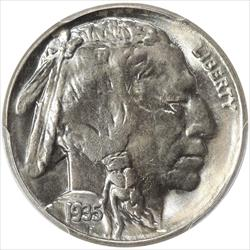 1935-S Buffalo Nickel PCGS MS66
