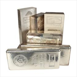 100 OZ SILVER BAR Random Stock Great Silver Investment Opportunity