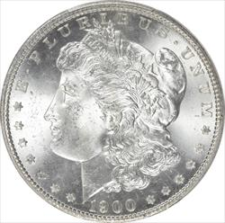 1900-S Morgan Silver Dollar PCGS and  CAC MS65