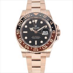 Rolex 40mm GMT Master II 126715CHNR 18K RG w/box and card