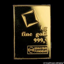 Valcambi 1g .9999 Fine Gold CombiBar   Individual 1 Gram Bar