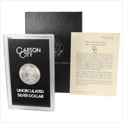 1891-CC Morgan Silver Dollar From The GSA Hoard Unc