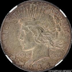1934-D Silver Peace Dollar NGC AU50 Nice Original Patina