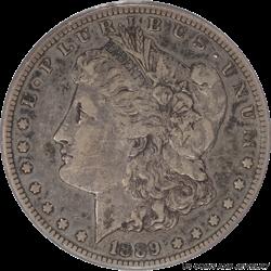 1889-CC Morgan Silver Dollar PCGS VF35 Key Date Carson City Dollar