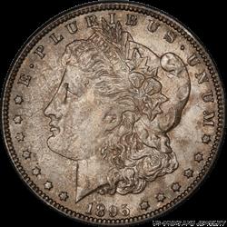 1895-O Morgan Dollar, Super Nice and Original,  PCGS MS 63