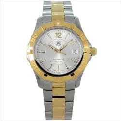 Tag Heuer Men's 39mm Aquaracer TT SS Bracelet Silver Dial Watch Only