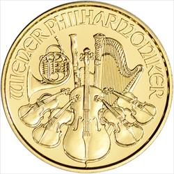 2021 1/10 OZ AUSTRIAN GOLD PHILHARMONIC