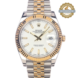 Rolex 41mm Datejust Ref/126333 Watch and Card (2018)