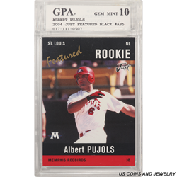 GPA 2004 #AP5 ALBERT PUJOLS GPA MINT 10