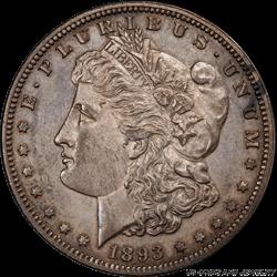 1893 Morgan Silver Dollar PCGS PR61 Rare Morgan Proof Coin