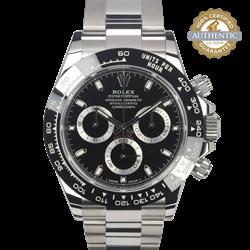 Rolex 40mm Daytona 116500LN Black Dial on a Stainless Steel Oyster Bracelet